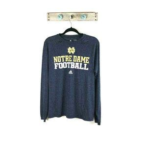 Adidas Climalite Mens S Notre Dame Football Shirt
